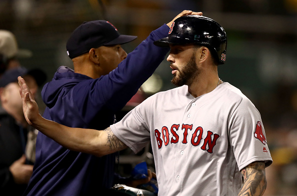 Blake Swihart Celebrates Birthday with Home Run, Three Hits as #RedSox Snap Four-Game Skid in Oakland