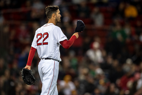 Rick Porcello Twirls Eight Shutout Innings as #RedSox Win First Home Series of 2019