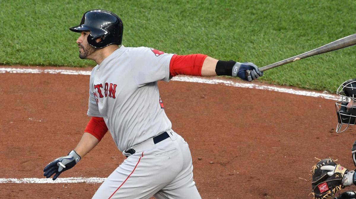 JD Martinez Returns to #RedSox Lineup in Houston, Bats Cleanup Against Former Club in SeriesOpener