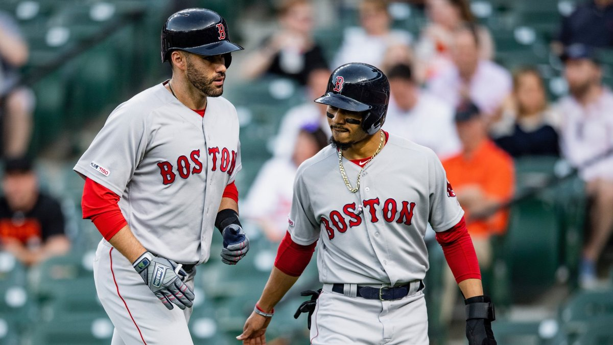 JD Martinez's 200th Career Home Run Sets Tone for #RedSox in 8-5 Win over Orioles
