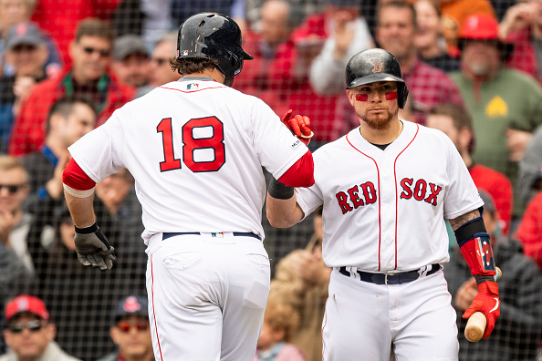 Mitch Moreland and Christian Vazquez Homer as #RedSox Open up May by Completing Sweep of Athletics