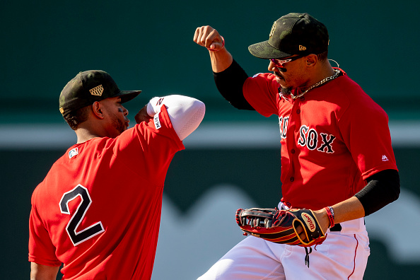 Xander Bogaerts Drives in Game-Tying and Game-Winning Runs as #RedSox Salvage Series Against Astros with 4-3Victory