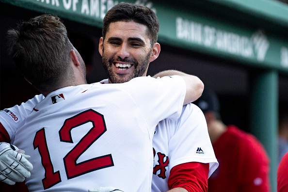JD Martinez Goes Yard Twice, Sandy Leon Once as #RedSox Open Series Against Indians with 12-5 Win