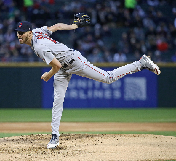 Chris Sale Fans 10, Michael Chavis and Rafael Devers Each Homer as #RedSox Bounce Back with 6-1 Win over WhiteSox