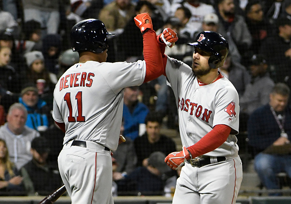 Nine-Run Third Inning, Michael Chavis' First Multi-Homer Game Carry #RedSox to 15-2 Blowout Win over White Sox