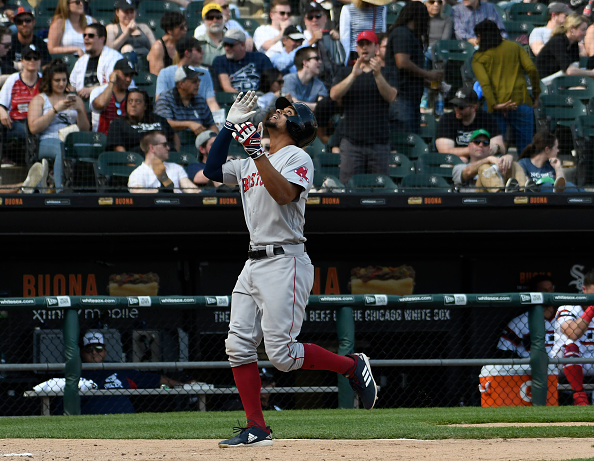 Xander Bogaerts' Grand Slam Caps off Seven-Run Eighth Inning for #RedSox in 9-2 Win over White Sox