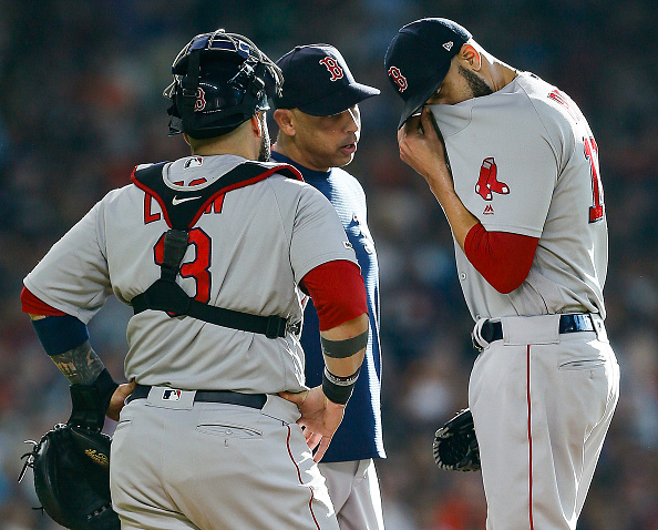 #RedSox' David Price Removed from Start Against Astros Due to Flu-Like Symptoms