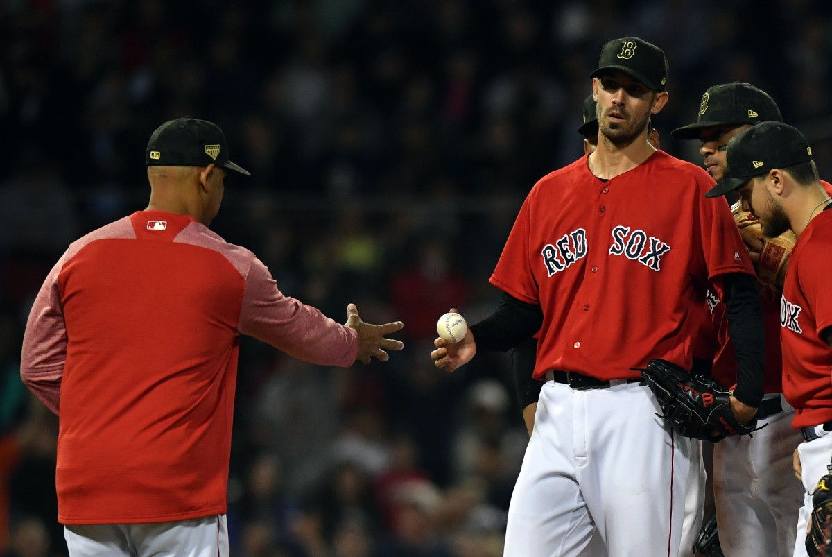 Rick Porcello's Gem Turns Sour Quickly as #RedSox Fall to Astros in Series Opener