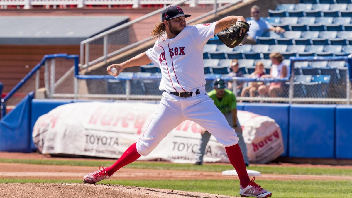 Red Sox Promote No. 19 Prospect Kutter Crawford to Double-APortland