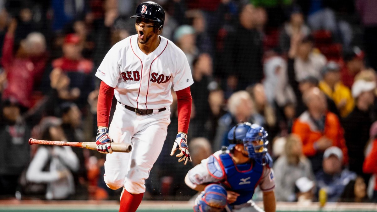 Xander Bogaerts Leads Power Surge for Red Sox in 7-6 Comeback Win over Rangers for Series Split