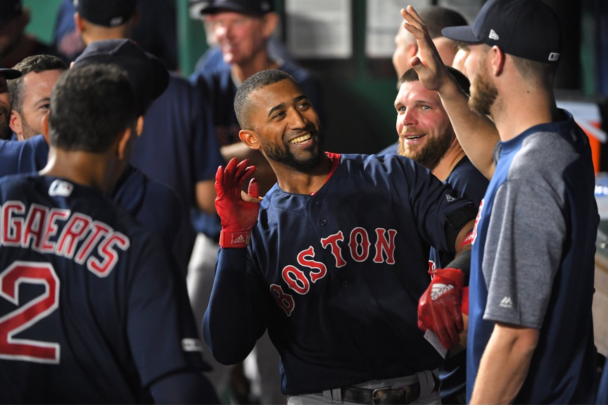 Eduardo Nunez's Eighth Inning Pinch-Hit, Three-Run Home Run Powers Red Sox to 8-3 Win over Royals in Eduardo Rodriguez's 100th Career Start