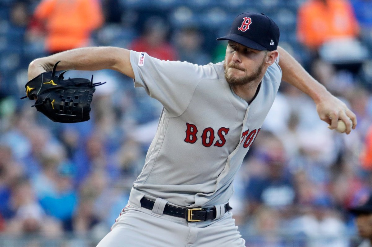 Chris Sale Tosses Second Immaculate Inning of Season in Complete Game Shutout as Red Sox Top Royals for Third Straight Win