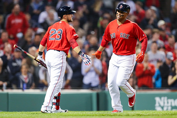 Red Sox' Rafael Devers Named American League Player of the Month, Michael Chavis Named American League Rookie of the Month for Strong MayPerformances