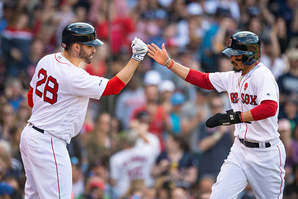 Mookie Betts and J.D. Martinez Selected as American League Reserves for 2019 All-Star Game, Xander Bogaerts and Rafael Devers Snubbed