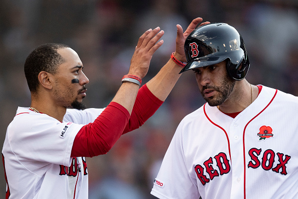 Red Sox' Mookie Betts, J.D. Martinez Will Not Start for American League in 2019 MLB All-Star Game