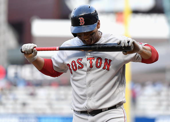 Red Sox' Rafael Devers Forced to Exit Wednesday's Game Due to Tightness in RightHamstring