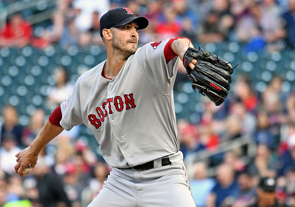 Rick Porcello Dazzles with Seven Scoreless Innings as Red Sox Take Opener from Twins for Sixth StraightWin