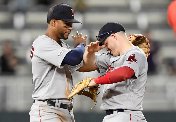 Red Sox Bounce Back, Break out for Nine Runs to Take Competitive Series from Twins