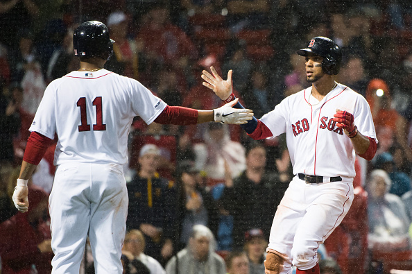 Xander Bogaerts Goes Yard and Rafael Devers Collects Four Hits as Red Sox Take Series from White Sox with 6-3 Rain-FilledWin