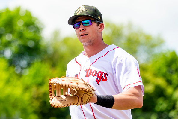 Red Sox' Second-Ranked Prospect Bobby Dalbec Mashes Two Home Runs in Second Straight Game for Double-APortland
