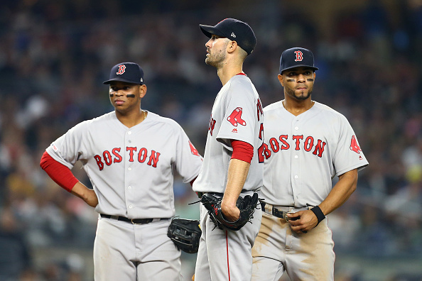 Rick Porcello Can't Make It Through Five Innings as Red Sox Drop Fourth Straight, Fall Back to .500 in 5-3 Loss to Yankees