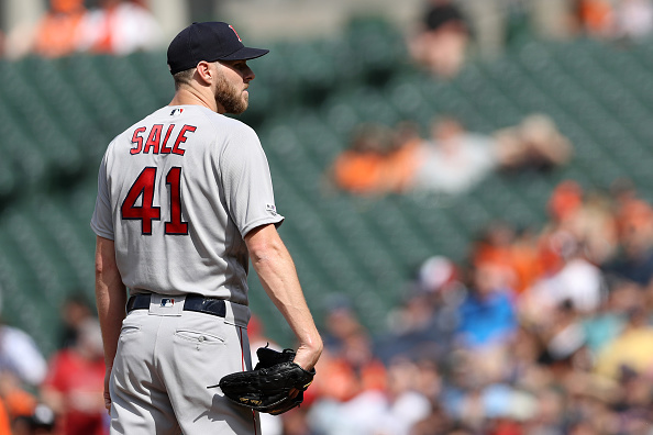 Chris Sale Fans 10 over Six Innings, JD Martinez Homers Again as Red Sox Top Orioles 7-2 for Fourth Straight Win