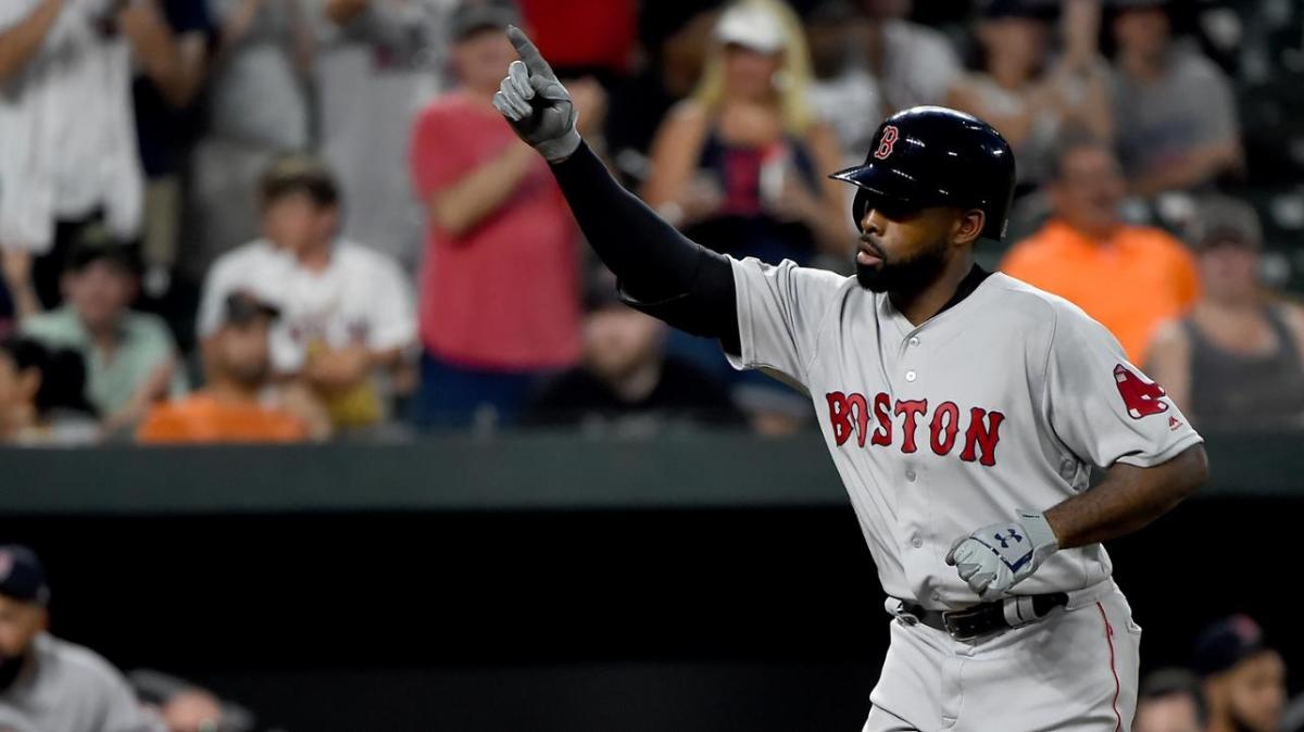 Jackie Bradley Jr. Goes Yard Twice, Drives in Six Runs as Red Sox Tee off on Orioles in 17-6 Win