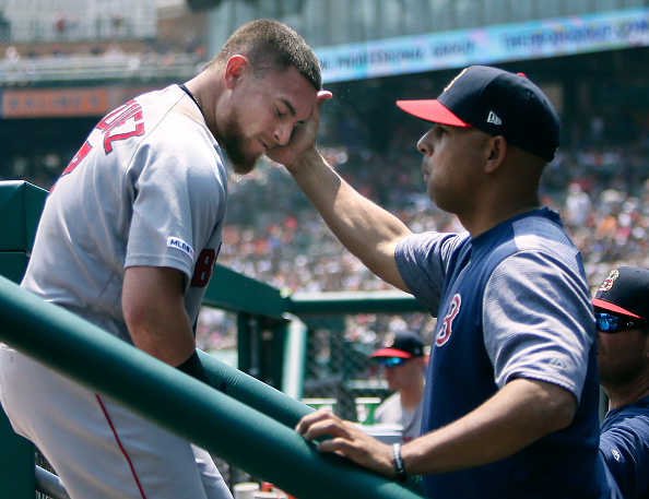 Christian Vazquez Blasts 14th Homer, David Price Goes Five Strong as Red Sox Finish off Sweep of Tigers and Head into All-Star Break Winners of Four Straight