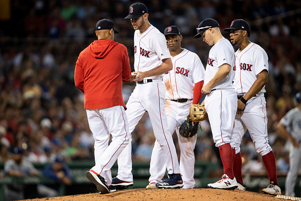 Chris Sale Fails to Get Through Five Innings, Falls to 3-9 on Season as Red Sox Get Blown out byDodgers