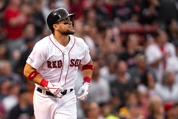 Michael Chavis' First Career Grand Slam Sets Tone Early as Red Sox Hold on to Take Opener from Blue Jays