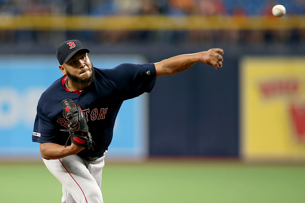 Eduardo Rodriguez Hurls Seven Scoreless Innings, Improves to 4-0 in July as Red Sox Take Opener from Rays to Begin Pivotal Stretch of Season