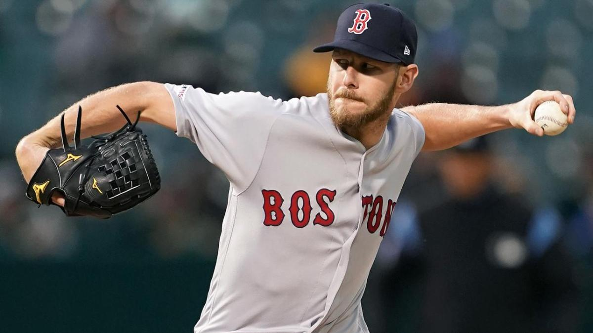 Red Sox' Chris Sale Receives PRP Injection, Will Be Re-Evaluated in Six Weeks