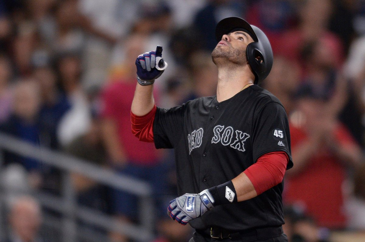 J.D. Martinez Mashes Two Three-Run Homers, Drives in Career-Best Seven Runs as Red Sox Roll past Padres