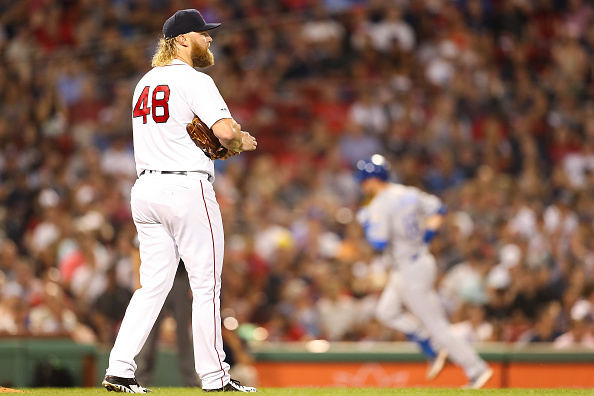 Andrew Cashner Gets Taken Deep Three Times as Red Sox Fall to Lowly Royals