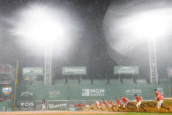 Series Finale Between Red Sox and Royals Suspended Due to Rain, Game Will Resume on August 22nd