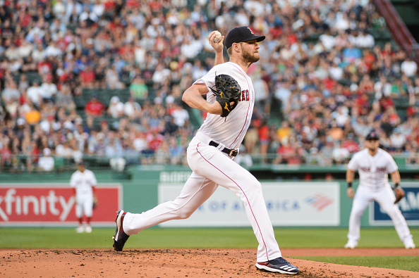 Chris Sale Dominates with 13 Strikeouts over Eight Shutout Innings as Red Sox Blank Angels 3-0