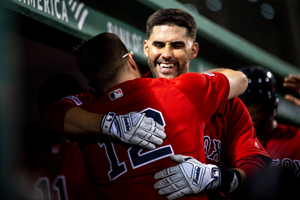 J.D. Martinez Crushes Two of Red Sox' Five Homers in 16-4 Blowout Win over Angels