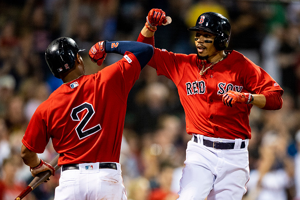 Rick Porcello Tosses Six Strong Innings, Mookie Betts Homers as Red Sox Cruise to 9-1 Victory overOrioles