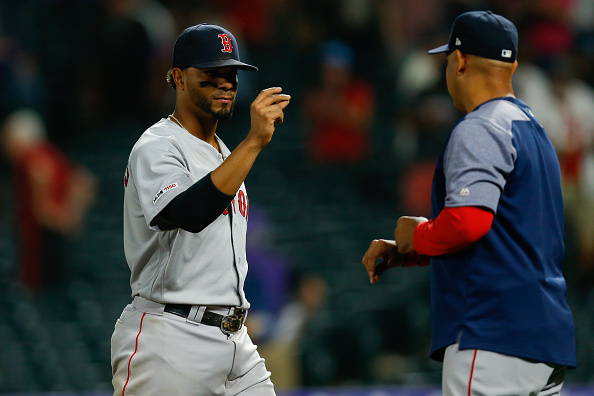 Xander Bogaerts Mashes Two Homers as Red Sox Finish off Sweep of Rockies in 7-4 Win