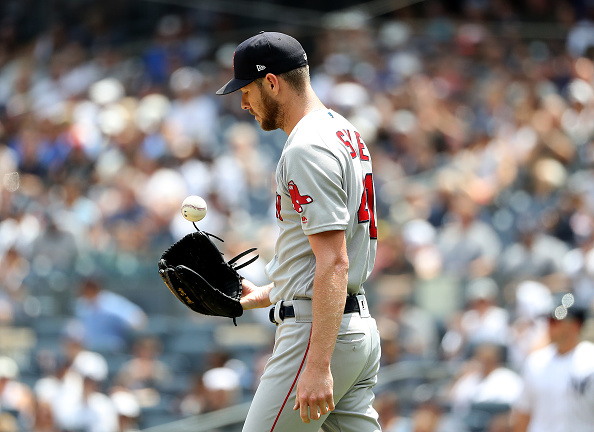 Chris Sale Gets Lit up for Eight Runs in Shortest Start Since Opening Day as Red Sox Fall to Yankees in First Game of Doubleheader
