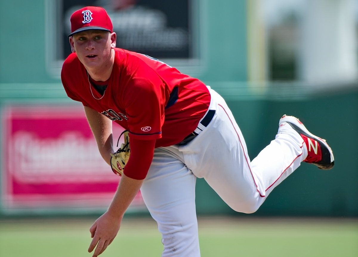 Red Sox' Seventh-Ranked Prospect Jay Groome Punches out Two in 2019 Gulf Coast League Debut