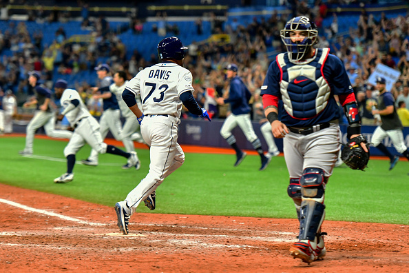 Red Sox Squander Late Lead, Eventually Fall to Rays in 11 Innings on Same Night They Are Eliminated From PostseasonContention