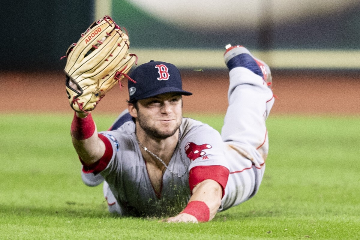 Reliving Andrew Benintendi's ALCS Catch on Its One-Year Anniversary