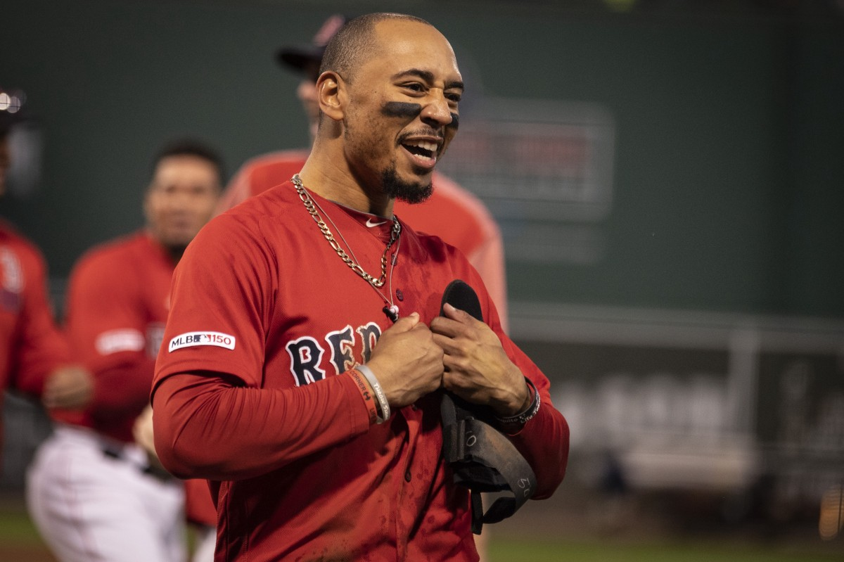 Red Sox' Mookie Betts Projected to Earn $27.7 Million in Final Year of Arbitration, per MLB Trade Rumors