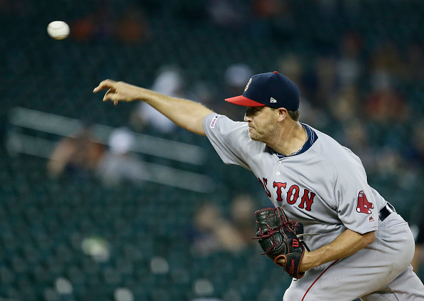 Red Sox Cut Ties With Knuckleballer Steven Wright