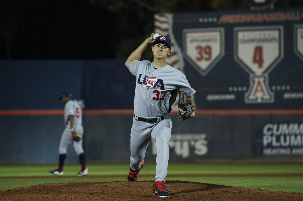 Red Sox Prospect Noah Song Shines Again for Team USA in Premier12 Tournament