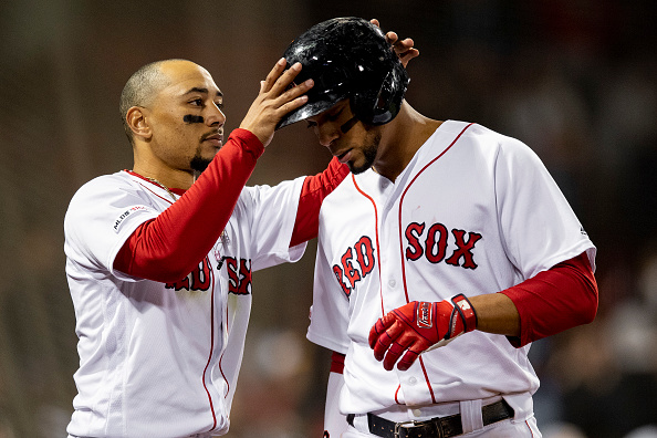 Red Sox' Mookie Betts and Xander Bogaerts Take Home Third Career Silver Slugger Awards