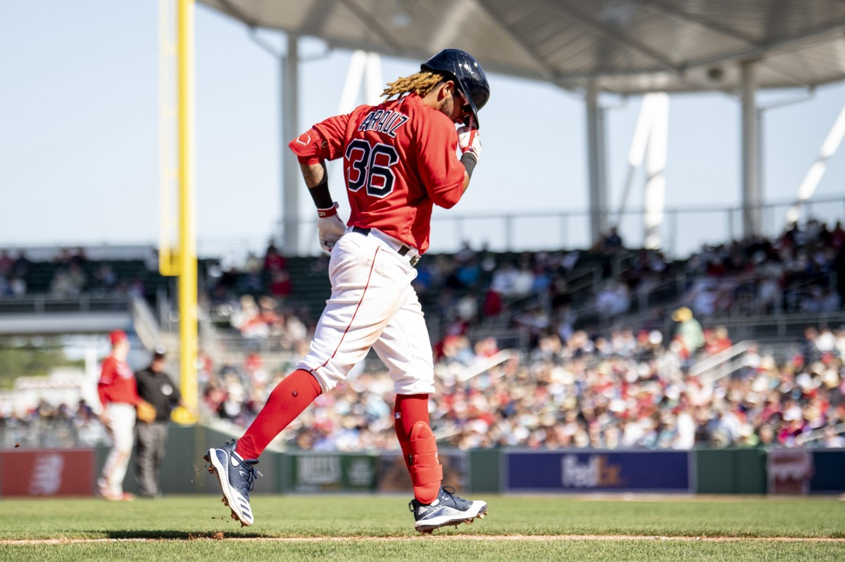 Bryan Mata Hurls Two Scoreless Innings, Jonathan Arauz Homers as Red Sox Fall to Phillies