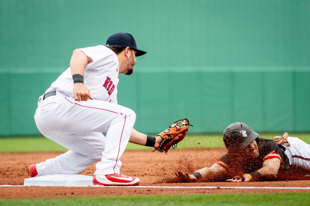 Red Sox Top Northeastern 3-0 in Spring Training Opener