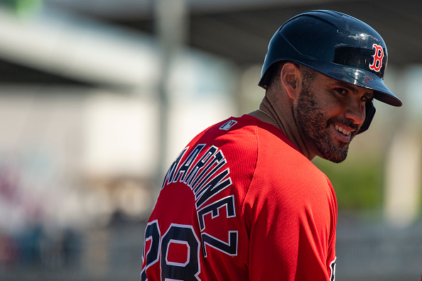 Red Sox' J.D. Martinez All for Universal Designated Hitter Moving Forward